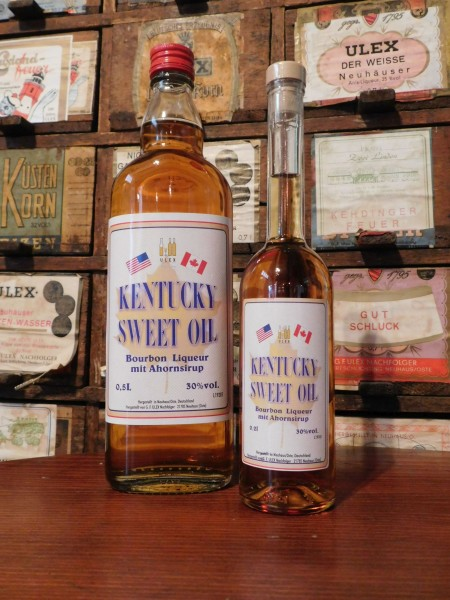 Kentucky Sweetoil Whiskylikör 30%Vol.