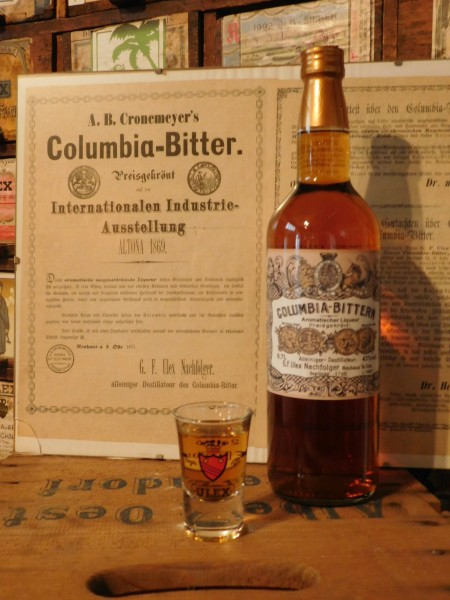 Columbia-Bittern, 43%vol. 700ml Grh