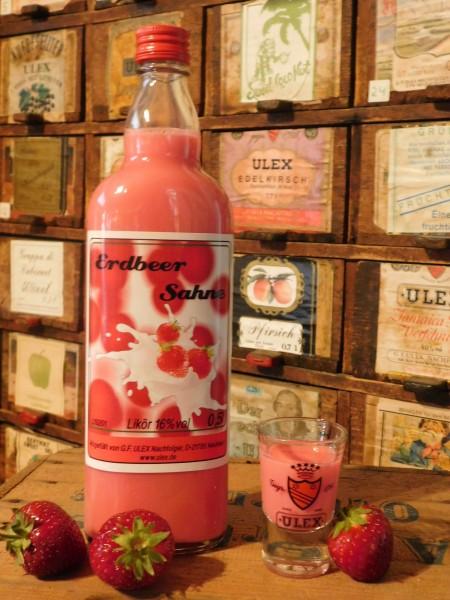 Erdbeer-Sahne-Likör, 17%vol. 500ml