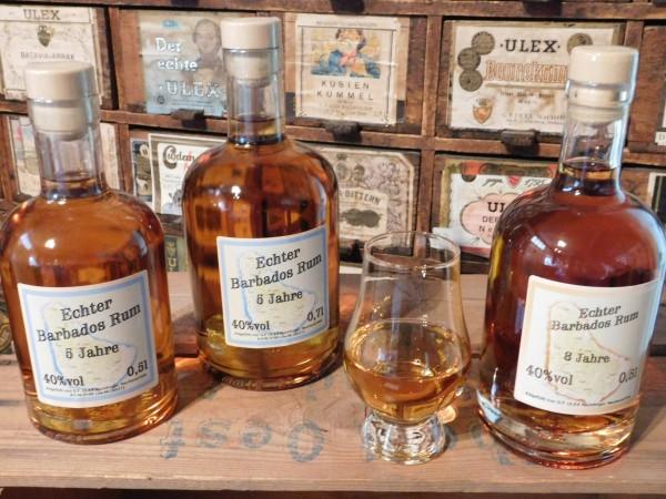 Echter Barbados Rum 8 Jahre