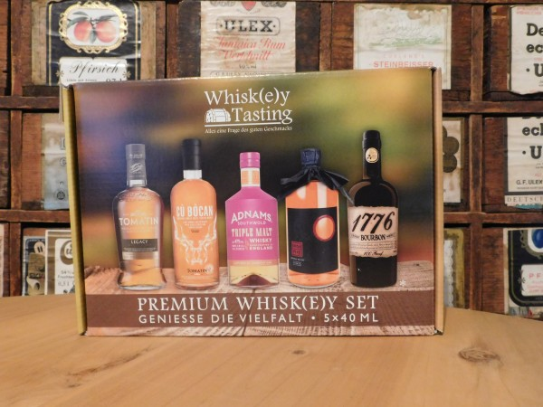 Whisk(e)y Tasting Set 5x40ml