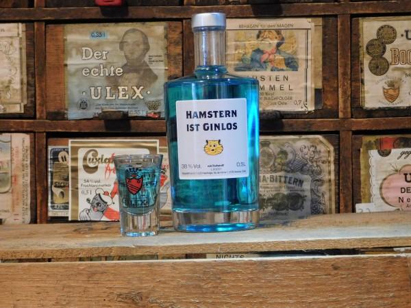 U-Gin mit Sonderetikett Hamstern ist GINlos