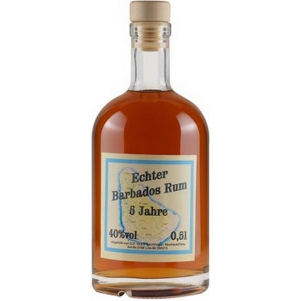 Echter Barbados Rum 5 Jahre